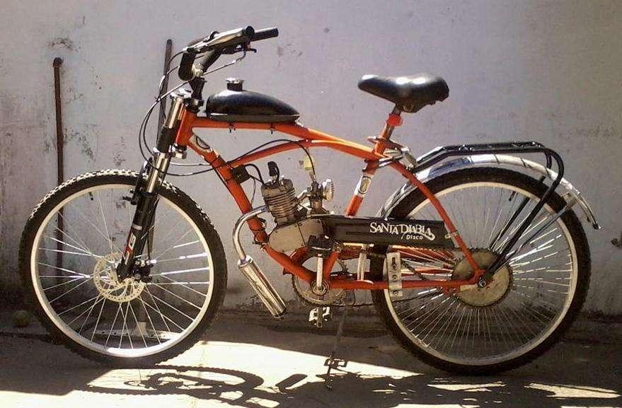 Instalamos En Tu Bici De hombre /Mujer Motor Y Kit 48cc De Bicimoto