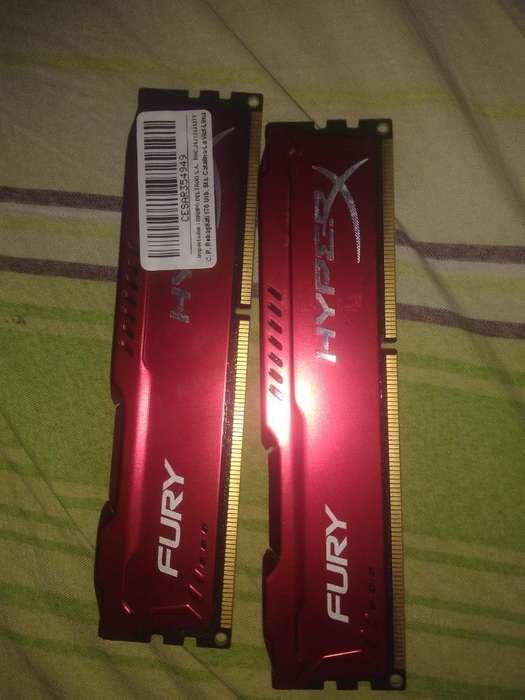 Memoria Ram 4gb Hyperx Fury Ddr3