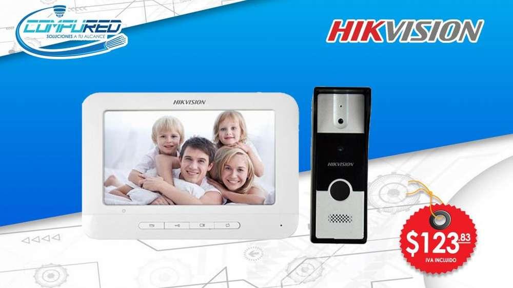 Video Portero Videoportero Análogo Ds-kis202 Hikvision