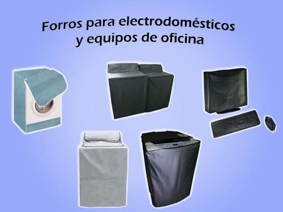 Forros protectores para lavadoras y cualquier tipo de electrodoméstico/equipo industrial, múltiples materiales
