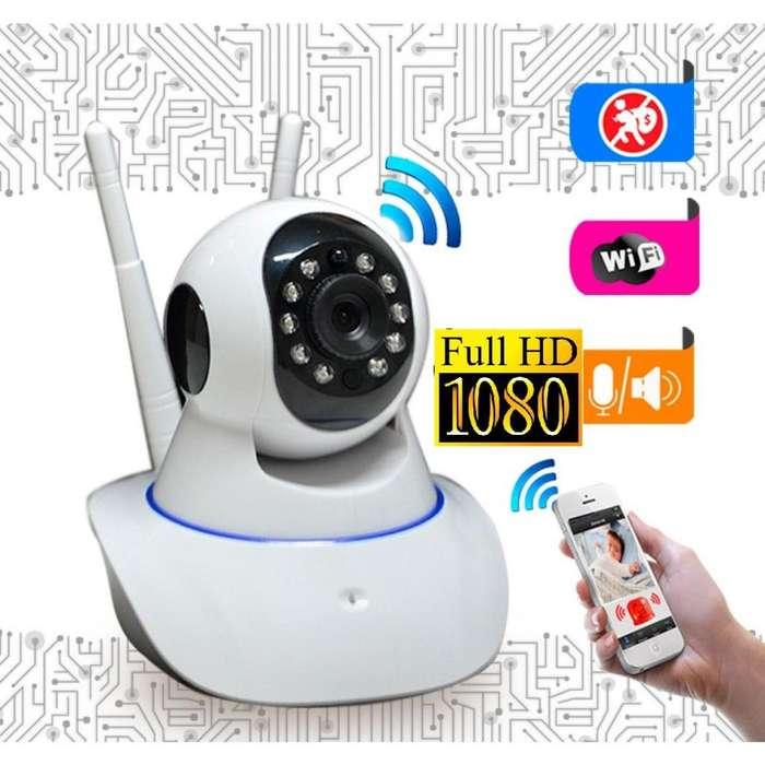 Camara Vigilancia Seguridad Ip Robotica WIFI FULLHD CCTV Nueva