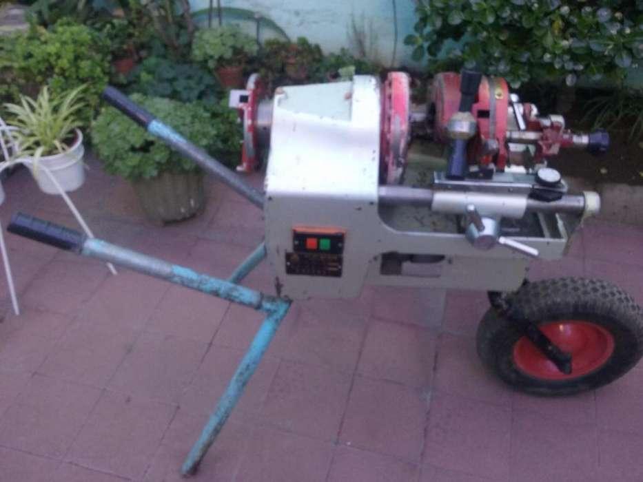 Roscadora eléctrica de caños de 1/2 a 2 pulgadas. Modelo Zit-R2
