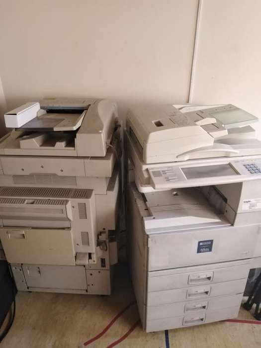 2x1 Fotocopiadoras Multifuncional Ricoh