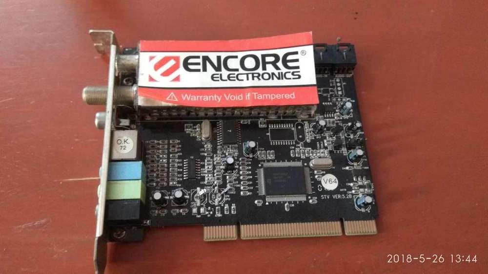 Tarjeta PCI Capturadora de Video con FM y TV analoga