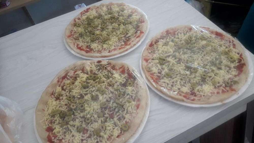 Vendo Pizzas para Hornear