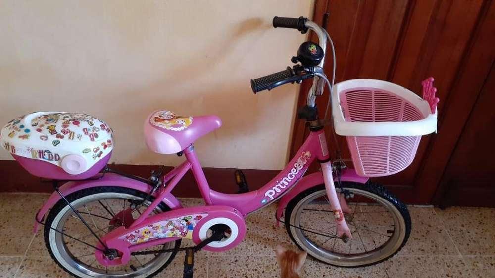 <strong>bicicleta</strong> para Niña