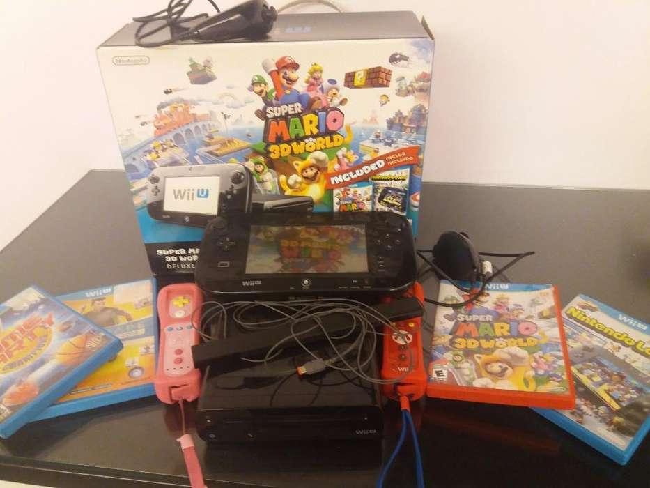 Nintendo Wiiu Usada con Juegos