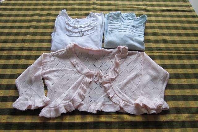 Lote de 3 prendas para nena de 2 años, marca Mimo!!! y <strong>cheeky</strong>!