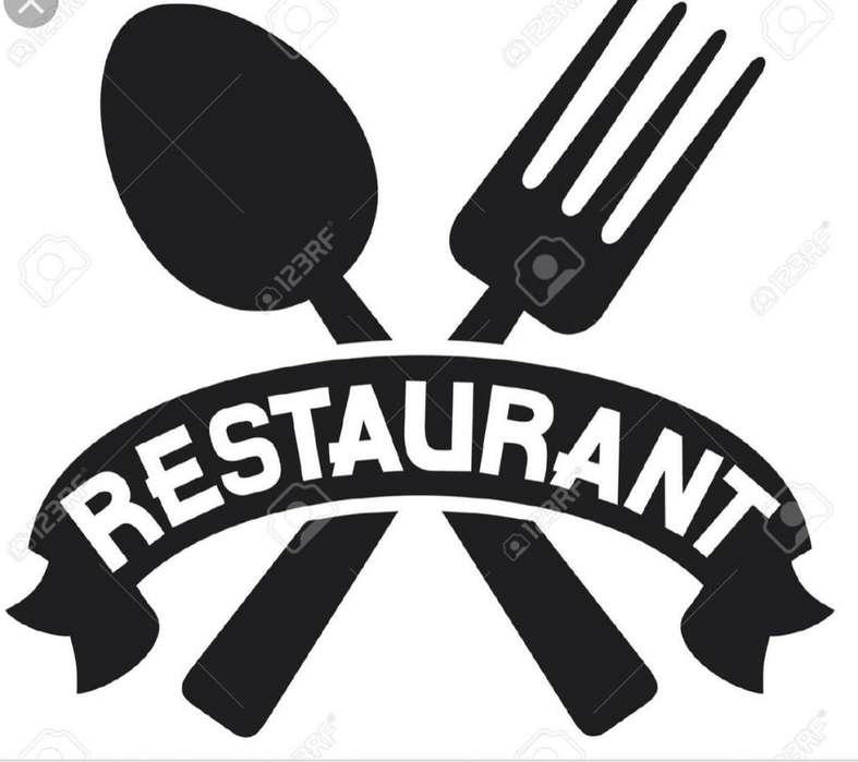Vendo restaurante trasladado 6500000 negociables