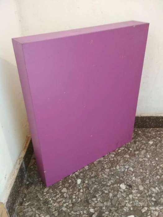 Cubos rectangulares De Madera Fibrofacil Mdf 70x60x10 cm