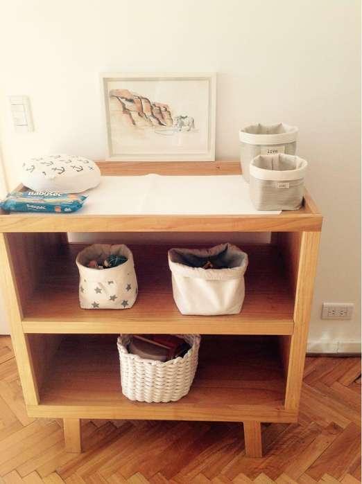 -Mueble de madera paraíso natural