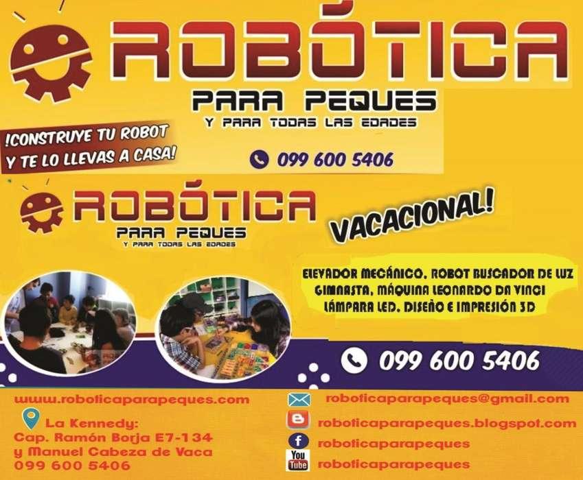 CURSO VACACIONAL DE ROBÓTICA APLICADA, ARDUINO E IMPRESIÓN 3D