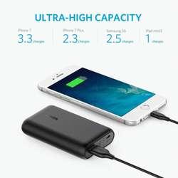 Bateria Ultra Portable Anker 10000mah 3.0 note 8 9 s9 s8 Carga rápida