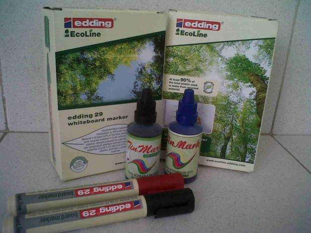 TINTA PARA MARCADOR BORRABLE GOTERO 22 ML