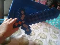 Espada y pico Minecraft