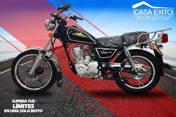 Moto Ranger 150at-10 150cc Clasica Año 2018 Negro Casa Éxito