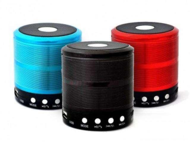 Parlante Mini con Bluetooth Cod. WS-887 NNET
