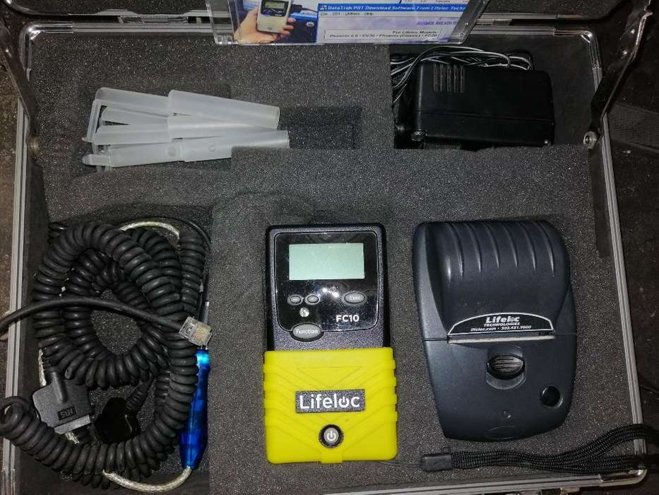 Alcoholimetro Profesional Lifeloc Fc10