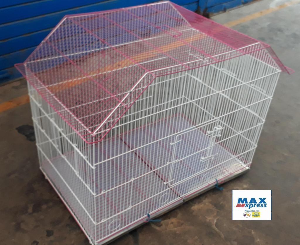 Jaula amplia para Aves Canario Agapornis Cokatiles Loro Delivery