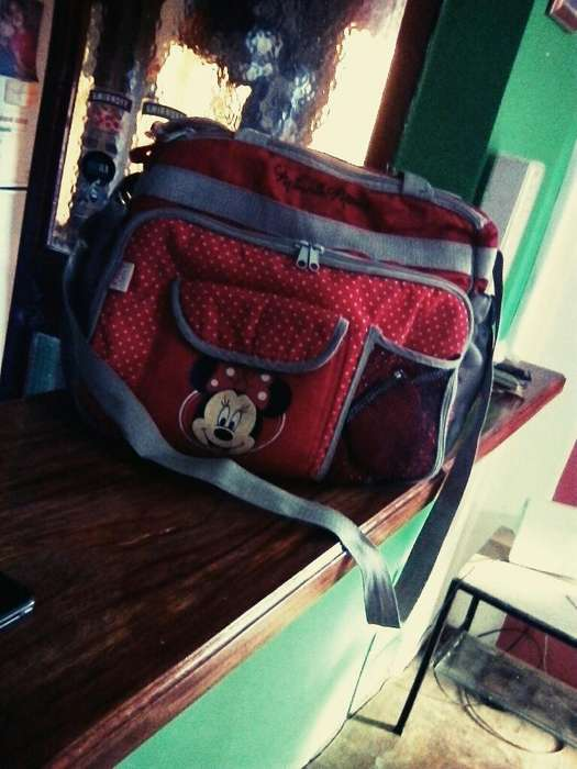 Bolso Maternal Minnie Mouse