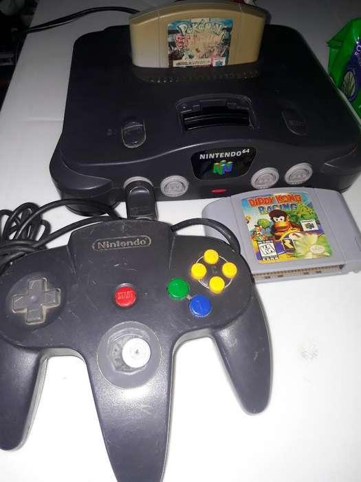 Nintendo 64 con Juegos(precio Fijo)