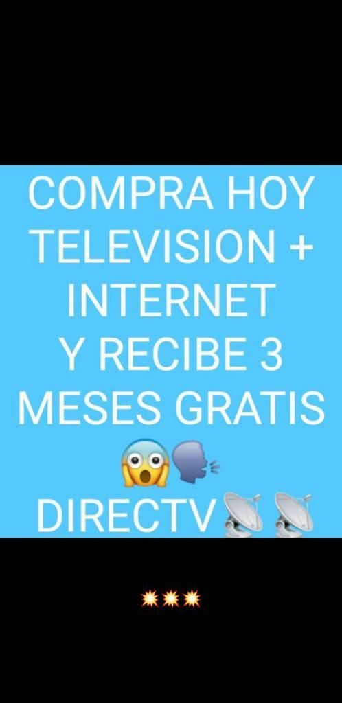 Internet Y Television Directv Full Hd