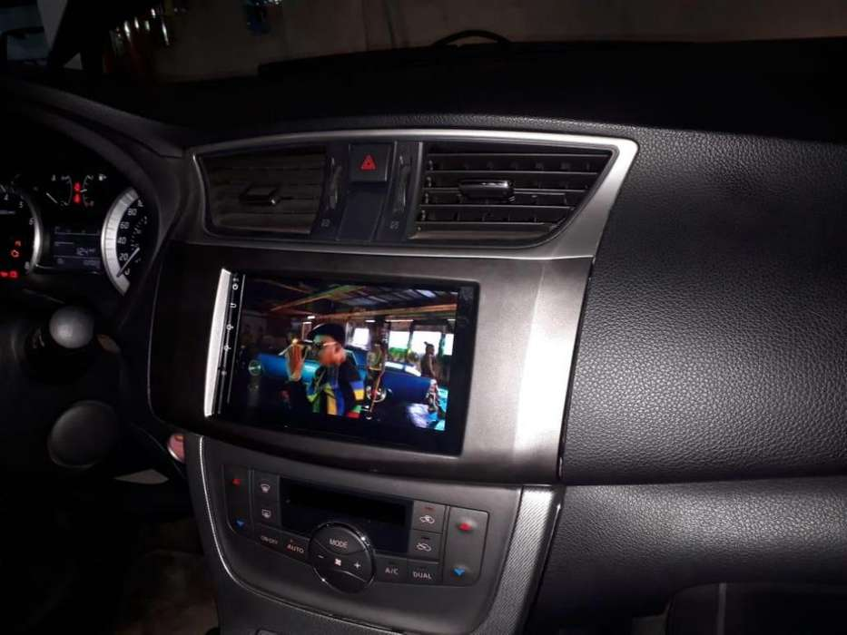 NISSAN SENTRA ESTEREO CENTRAL MULTIMEDIA STEREO CON ANDROID, GPS, BLUETOOTH