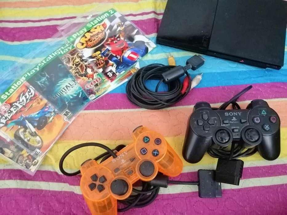 play station 2 edicion muy completo con 1 control juegos wPP 3186789599
