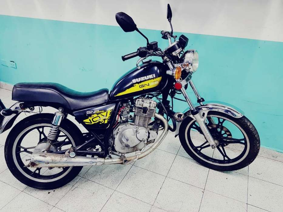 Suzuki Gn 125 Modelo 2008