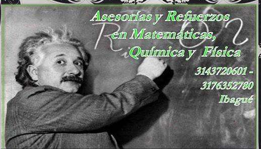 Clases particulares y talleres de Matematicas, Fisica y Quimica