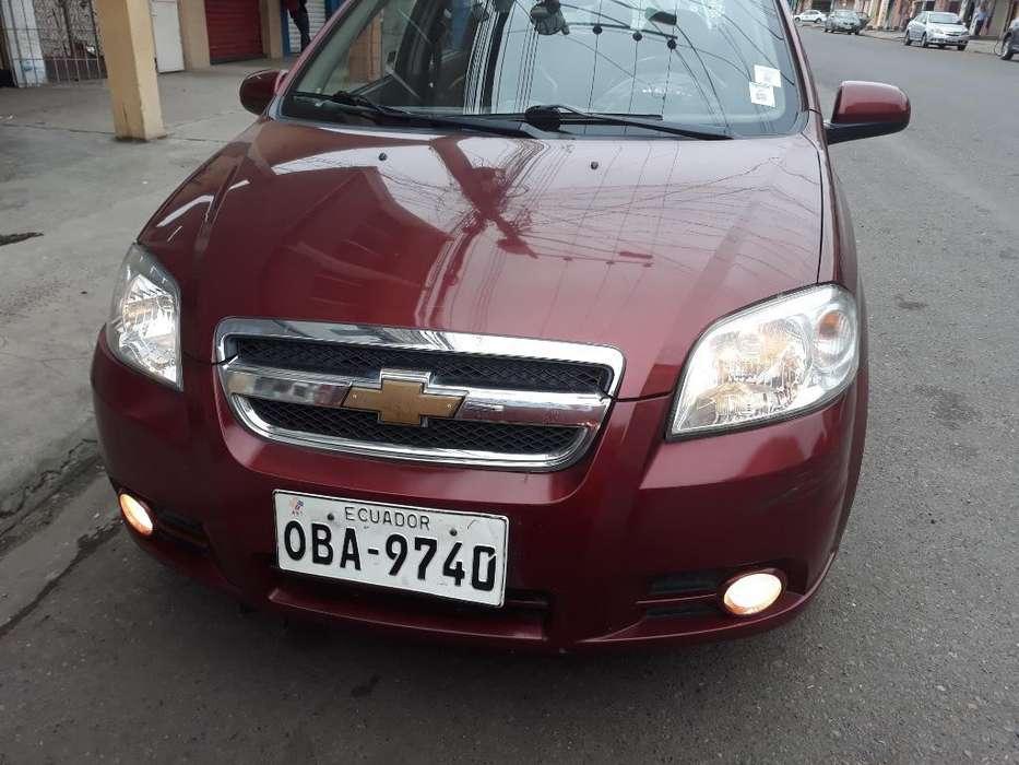 Chevrolet Aveo 2015 - 78000 km