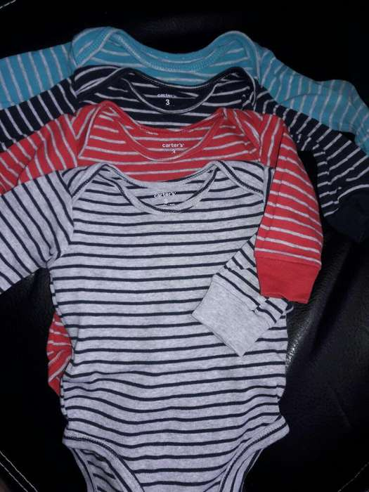 Lote Bodies Carters 3 Meses