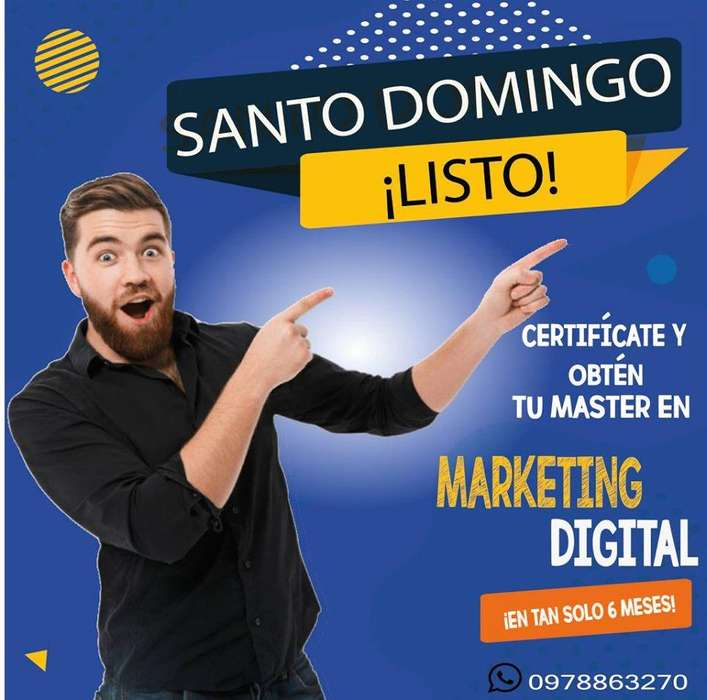 Curso Master en Marketing Digital y Comercio Electrónico, para todas las edades!
