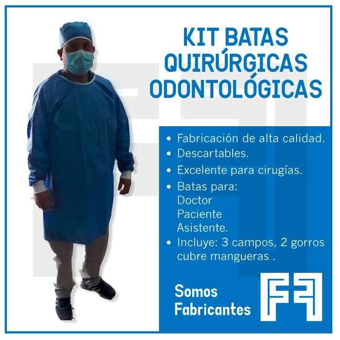 Kit Batas Quirúrgicas Odontológicas