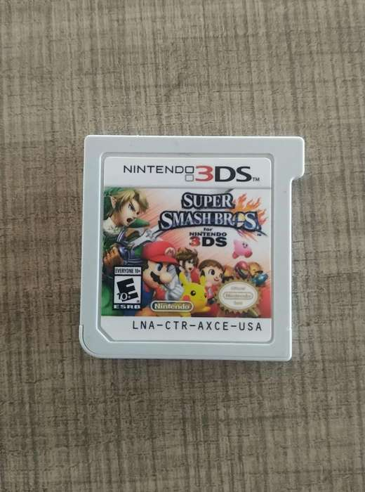 Juego 3ds Super Smash