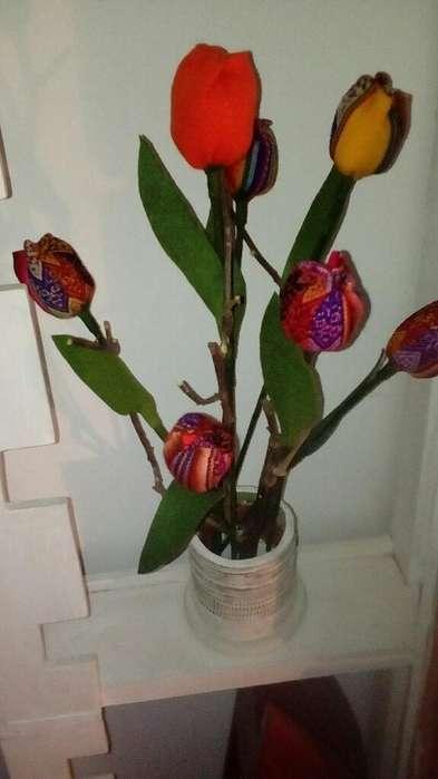 Flores Artesanales Hechas Mano