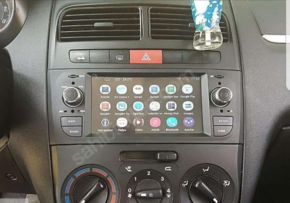 <strong>fiat</strong> PUNTO Estereo CENTRAL MULTIMEDIA STEREO PANTALLA Gps Android Bluetooth