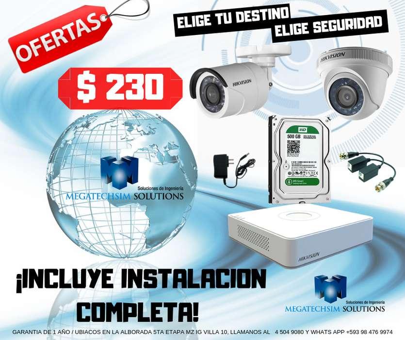 instalación y ventas cámaras e seguridad y vídeo vigilancia