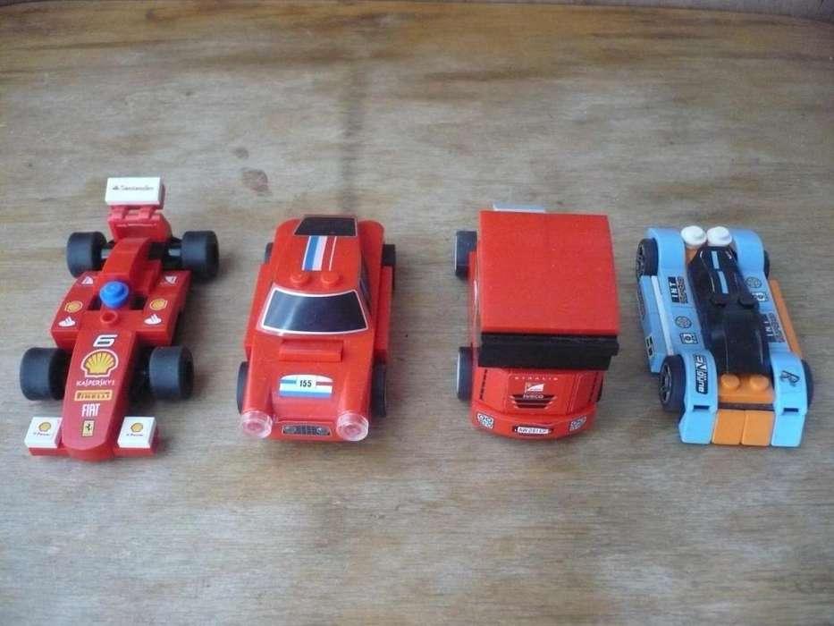 Lego Lote De 1 Auto Racer Y 3 Ferraris