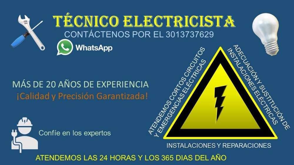 Electricista Bucaramanga, Atendemos Sus Emergencias Eléctricas las 24 Horas, todos los Días. Llamar 3013737629