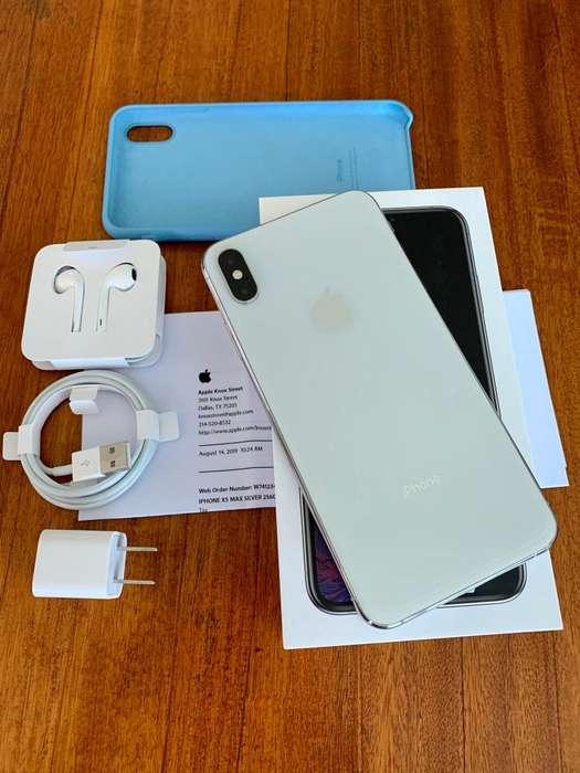 iPhone XS Max 256GB - Color plata (Blanco)