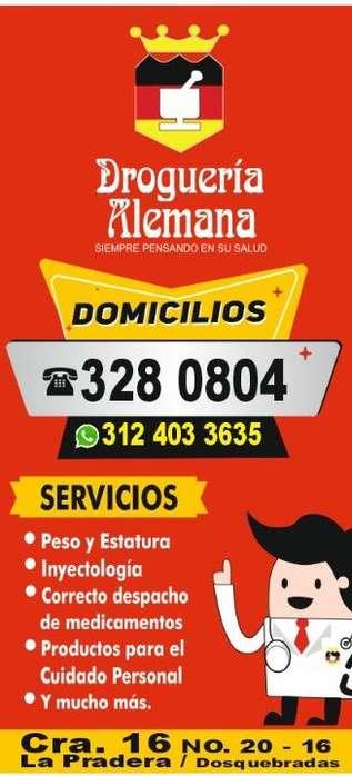 Servicio a Domicilio de 7:30 Am a 10 Pm