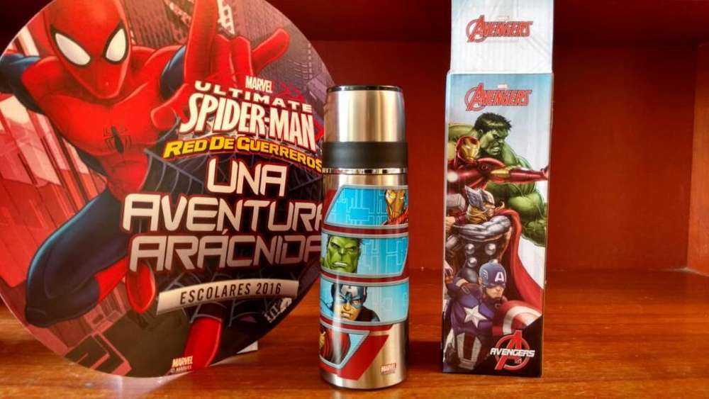 Termo Avengers Y Spiderman