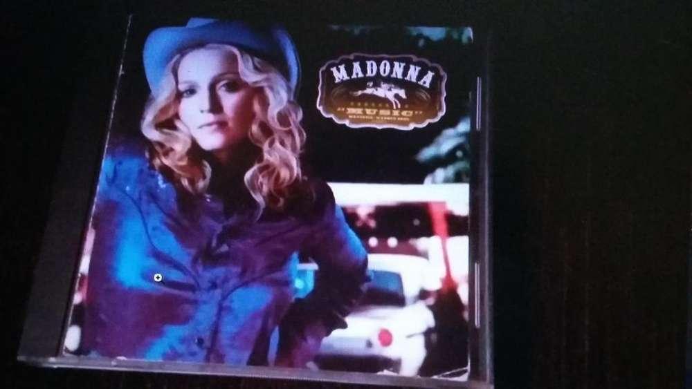madonna music cd pop