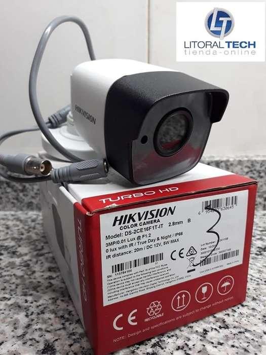 Cámara Hikvision Bullet Metal. 3 mpx.