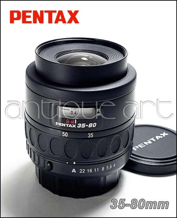 A64 Lente Pentax 35-80mm Af Digital Foto Video Zoom K10 K50