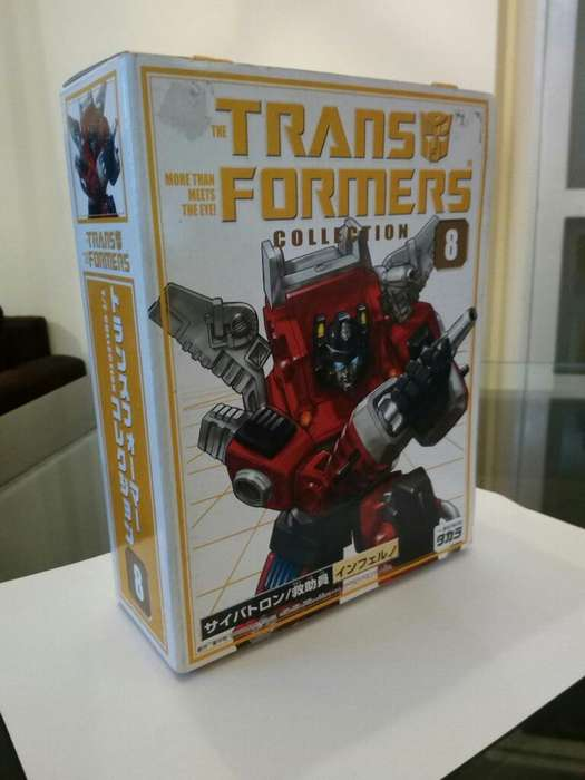 Inferno G1 Transformers Collection 8
