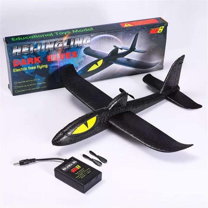 Avion Volador, Aeroplano de Espuma