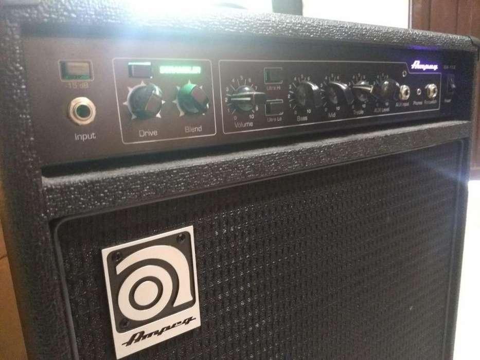 Amplificador Ampeg para bajo. modelo BA-112