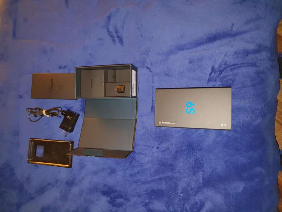 S9 Solo caja completa con accesorios
